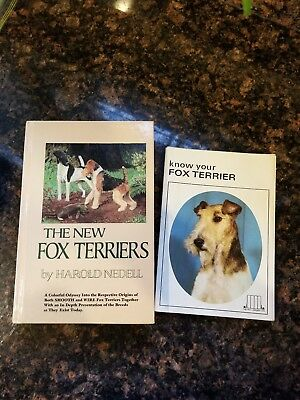 WIRE FOX TERRIER lot of 2 Books