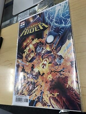 Cosmic Ghost Rider #4 (2018) 1st Print Scarce NYCC Exc Retailer Variant Marvel