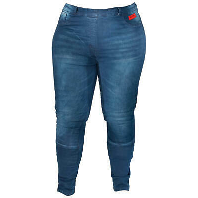 Jeans Rusty Stitches Ella Denim Damen Jeans Motorradhose Stretch Abriebfest Bequem