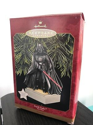 Hallmark 1997 Star Wars Darth Vader Magic Keepsake Ornament Light Voice QXI7531