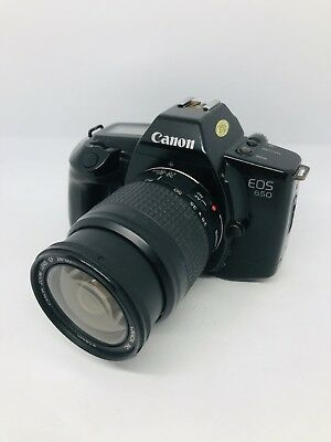 Canon EOS 650 mit Canon Zoom Lens EF 28-80mm / 1:3,5-5,6 volle Funktion #1793269