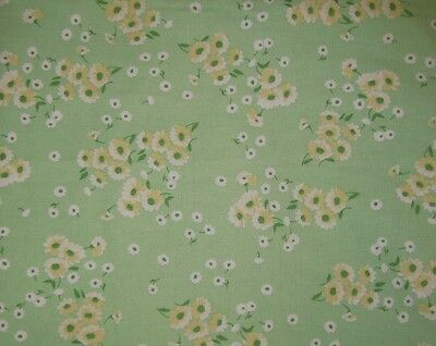 New Pottery Barn Kids ANNA Green DAISY Toddler DUVET linen cotton