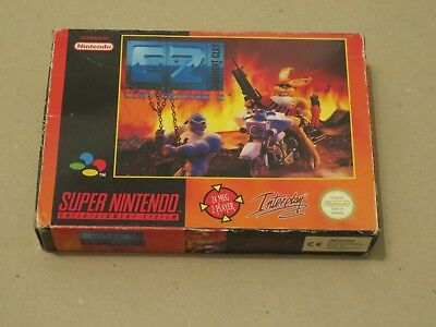 ✪ Clay Fighter 2 Judgement Clay SNES PAL nur OVP box only ✪