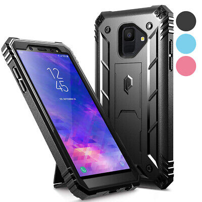 Poetic® For Samsung Galaxy A6 Shockproof Hard Shell Case Cover w/Kickstand