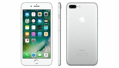 Apple iPhone 7 Plus 32GB Silver Factory GSM Unlocked AT&T T-Mobile Smartphone