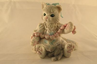 Calico Kittens by Enesco, A Good Friend Warms The Heart, 1992 Priscilla Hillman