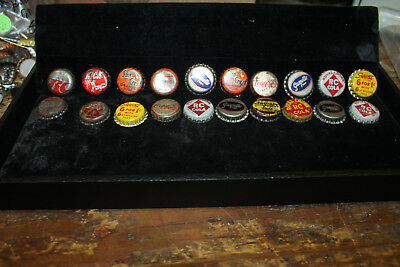 Lot of 20 Bottle Caps 17 Cork Lined NuGrape Suncrest Squirt Kick  RC Grapette