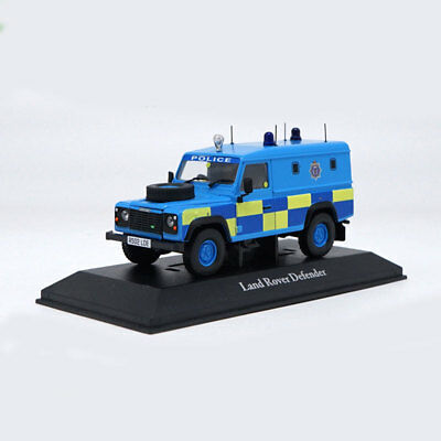 Land Rover Defender Police Vehicle Off-road SUV 1:43 Car Model Diecast Gift Toy