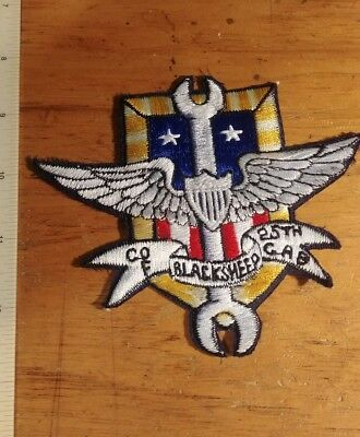 Us Army 25Th Combat Aviation Brigade Company F Black Sheep Patch Unissued