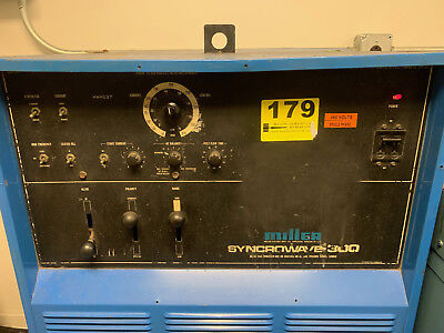Miller Syncrowave 300 Tig Welder,torch,foot Pedal, Ground Clamp