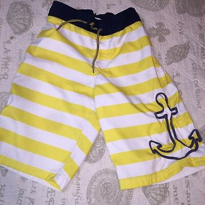 Janie And Jack Boy Swim Trunks Size 8