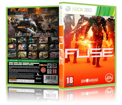 FUSE - Replacement Xbox 360 Cover and Case. NO GAME ... Xbox Fuse Location on