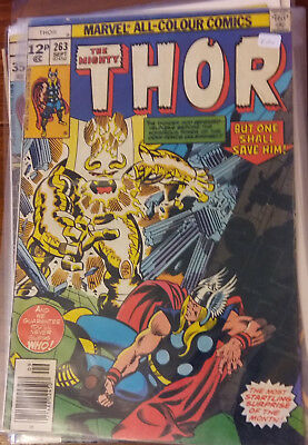 Marvel Comics - The Mighty Thor  #263 - Bronze Age