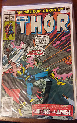 Marvel Comics - The Mighty Thor  #267 - Bronze Age