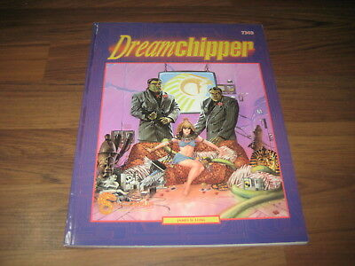 Shadowrun 1st Edition Dreamchipper Adventure 1989 FASA 7303 Softcover