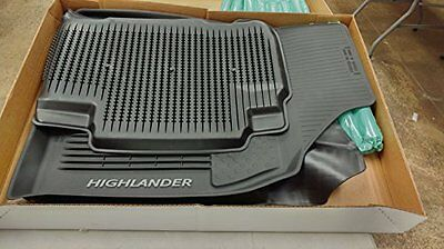 2016 2017 2018 Toyota Highlander Oem All Weather Floor Liners