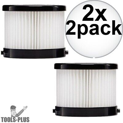 Milwaukee 49-90-1951 2Pk HEPA Filter for 0882-20 2x New