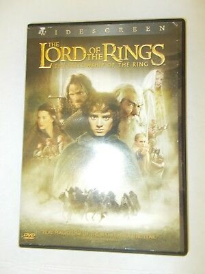 Lord of the Rings The Fellowship of the Ring DVD Widescreen