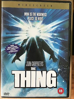 The Thing 1982 John Carpenter Culte Horreur Remake With Kurt Russell