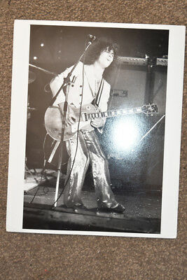 Original photo Marc Bolan T.Rex  B&W Approx 8 inches x 10 inches