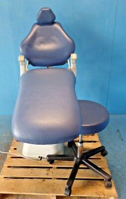 Marus DC1702 Dental Chair w/ Ritter 272-001-231 Stool Airlift