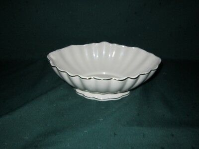 Lenox Look-A-Like Bowl~Footed~VG~Get the look w/o the Price!