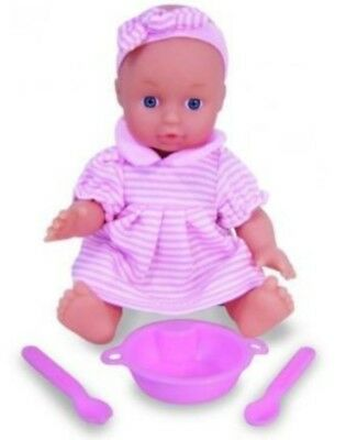 "Petitcollin 18cm ""My Baby Twitter"" Baby Doll in Display Box. Suitable from 18mth"