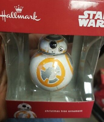 Hallmark Star Wars Christmas tree ornament BB8