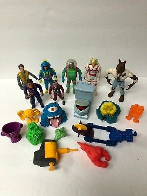 1980s Kenner Ghostbusters Lot of 18 Items Figures and Ghosts