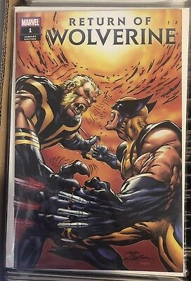 Return of Wolverine #1 Neal Adams Variant NM