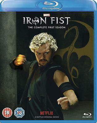 IRON FIST Season 1 [Blu-ray] Complete First Season One Netflix Marvel Defenders
