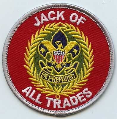 """""""Jack of All Trades"""" commissioner patch.  Joke/spoof patch"""