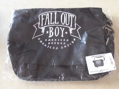 Fall Out Boy 'American Beauty American Psycho' Messenger Bag New in Packet