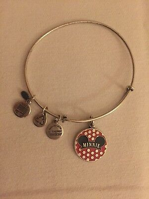 Alex and Ani Disney Minnie Mouse Ears Red Silver Bracelet 2014
