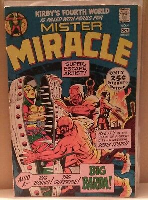 Comic Book  Mister Miracle, No. 4, Sept-Oct 1971