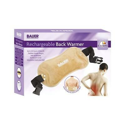 Bauer Rechargeable Electric Back Warmer Hot Water Bottle Massaging Heated Pad