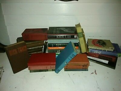 Lot of 10 Random antique Vintage Books  UNSORTED MIXED 1800S / EARLY 1900S