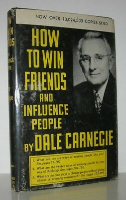 HOW TO WIN FRIENDS AND INFLUENCE PEOPLE - Dale Carnegie - Vintage Copy