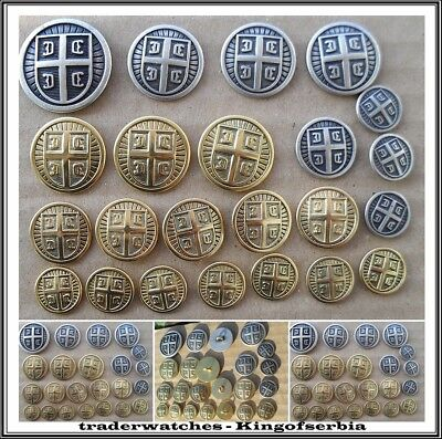 Button uniforms for officers of the army of the Republic of Serbia - 23 pieces.!