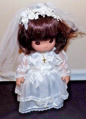 Vintage 2000 Precious Moments Christening doll Alexis 12 Tall doll