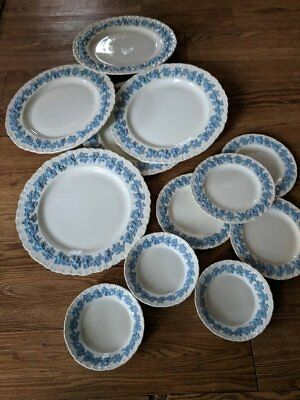 Wedgwood 'Lavender on Cream' Set of China