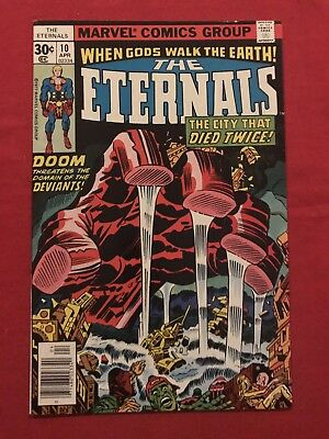 The Eternals #10 Newsstand High Grade-Check Out My Other Auctions