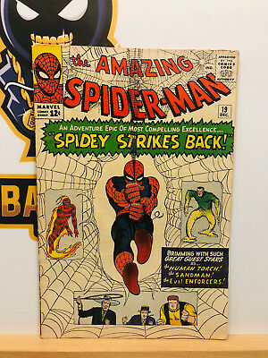 Amazing Spider-Man #19 (5.0) VG/Fine 1st Full Ned Leeds Appearance 1964 Stan Lee