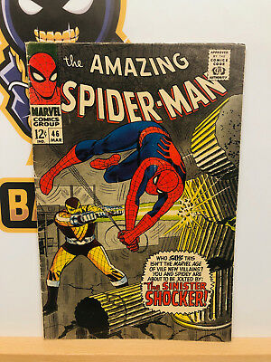 Amazing Spider-Man #46 (5.0) VG/Fine 1st Shocker Appearance 1967 By Stan Lee