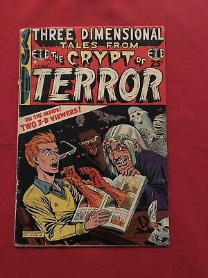 Tales From The Crypt (Of Terror) 3-D No Glasses Check Out My Auctions