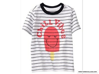 New Gymboree Boys Jump Into Summer Chill Vibes Top 2T