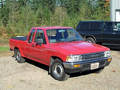 1991 Toyota Pickup  1991 Toyota Extended Cab 2 Wheel Drive Low Mile One Family Owned Original Paint