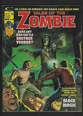 Tales Of The Zombie #10 Vf+ 8.5 Brother Voodoo Black (Marvel 1975)