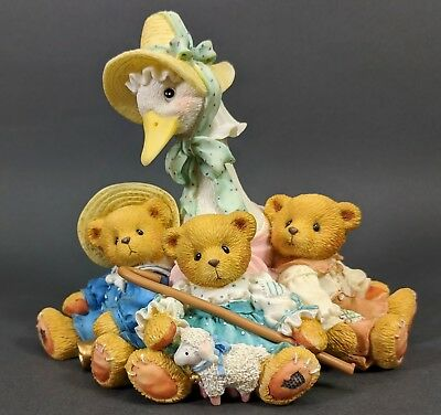 Cherished Teddies ~ Mother Goose and Friends - Friends Of A Feather... (154016)