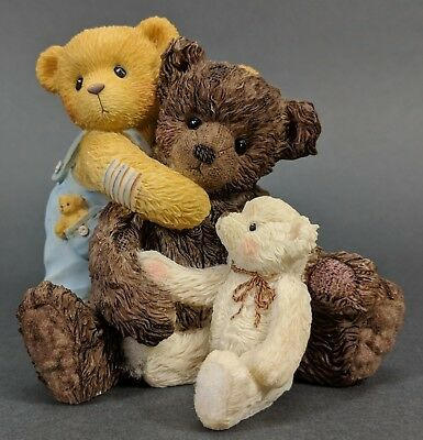 Cherished Teddies ~ Sawyer & Friends - Hold On To The Past But Look... (662003)